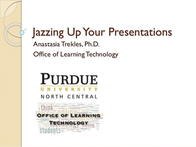 Jazzing Up Your Presentations