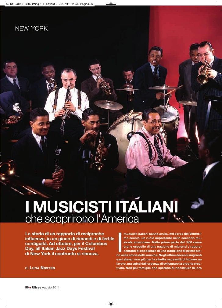 NEW YORK  I MUSICISTI ITALIANI  che scoprirono l'America                                                  I  La storia di ...