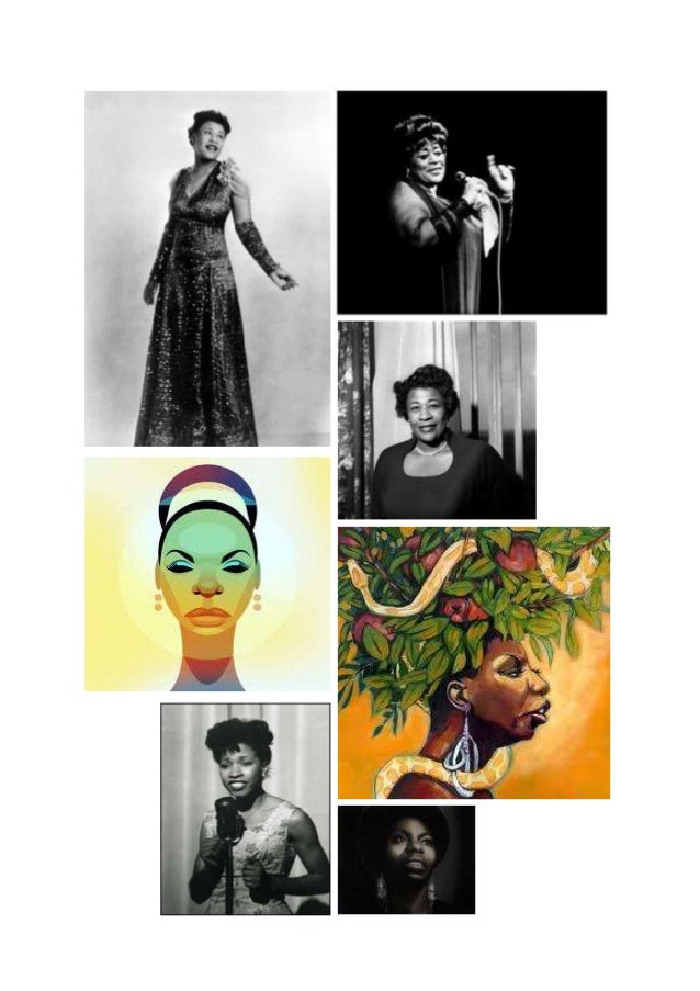 Jazz and blues moodboard research
