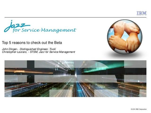 Jazz for Service Management - OMNIbus