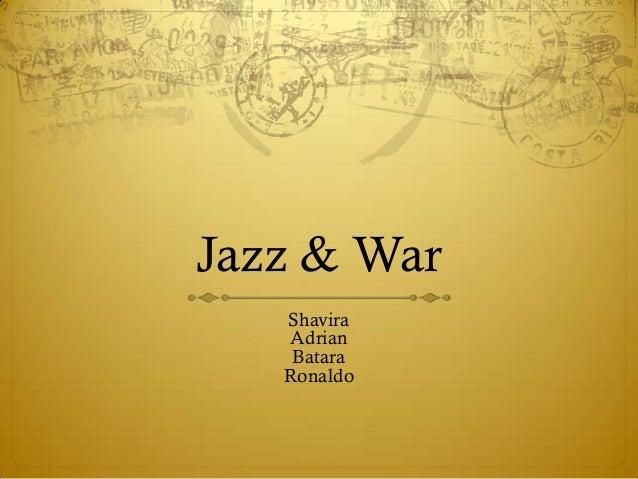 Jazz & war