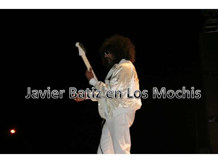 Javier Batiz en Los Mochis<br />