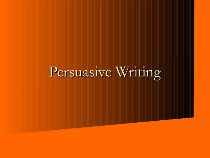 jb 3283 Persuasive Writing