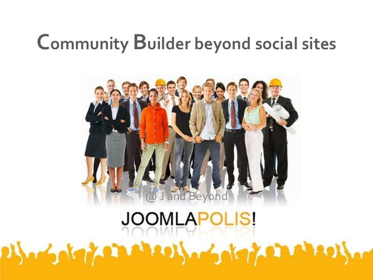 Community Builder beyond social sites