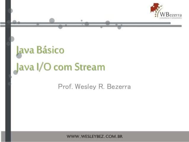 Java Básico :: Stream