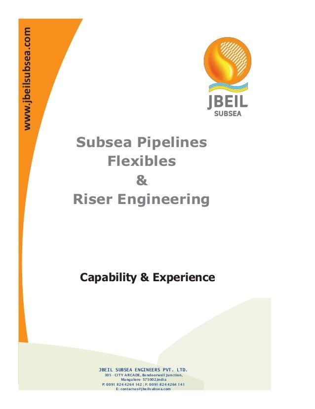 Jbeil subsea brochure