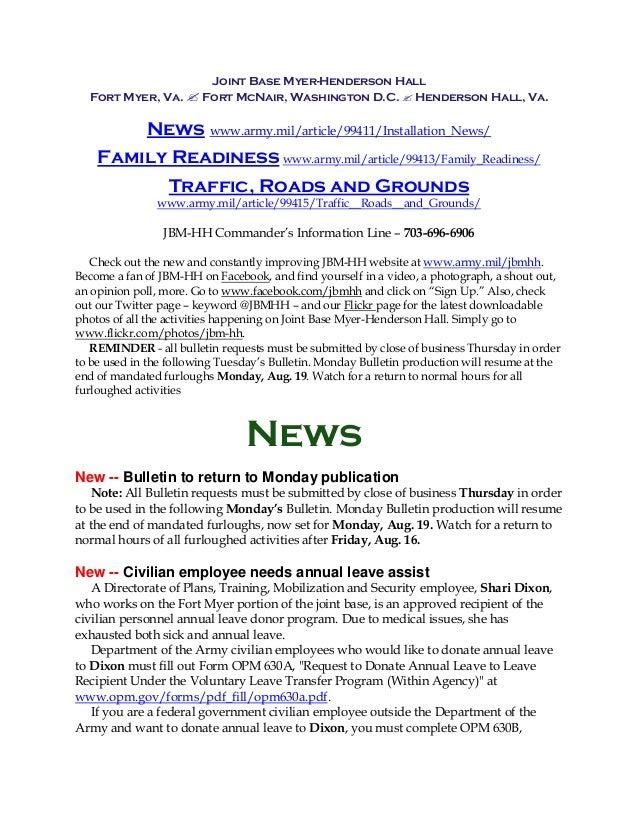 JBM-HH Bulletin 8-13
