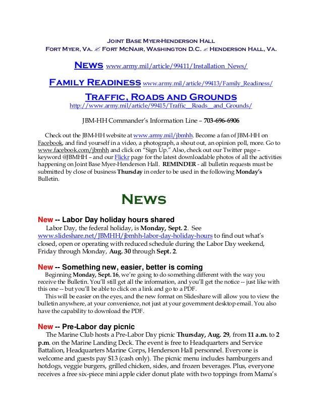 JBM-HH Bulletin 8-26