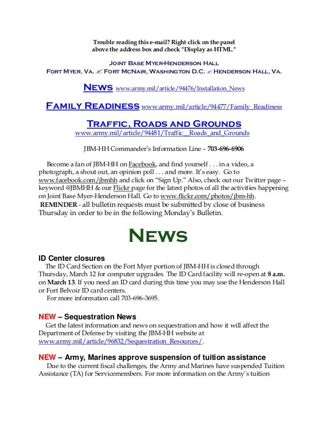 JBM-HH Bulletin March 11