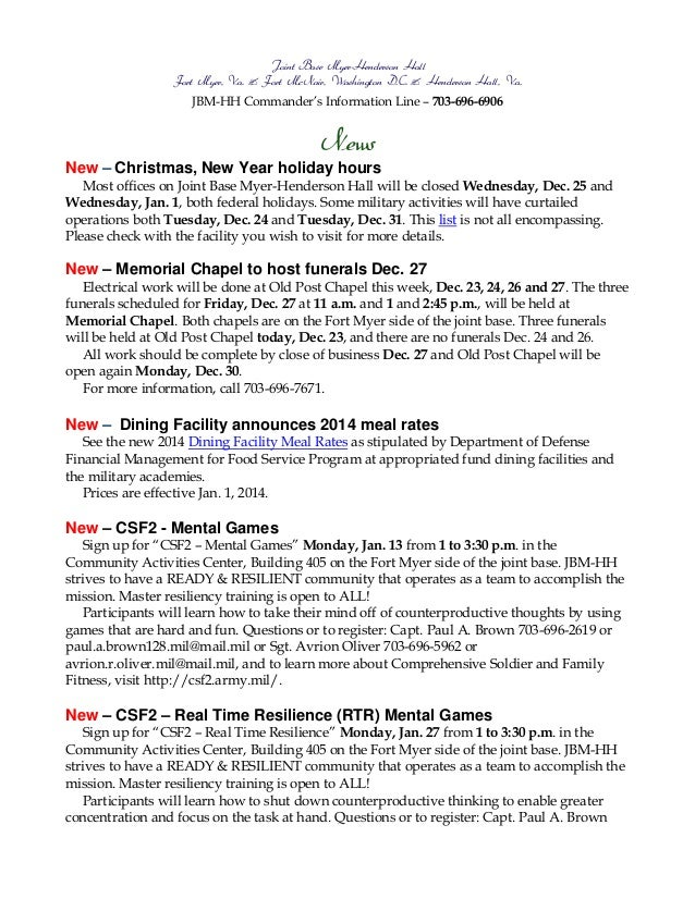 Jbmhh 23 dec13bulletin