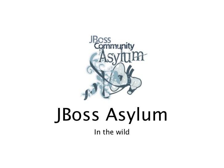 JBoss Asylum Podcast Live from JUDCon 2010