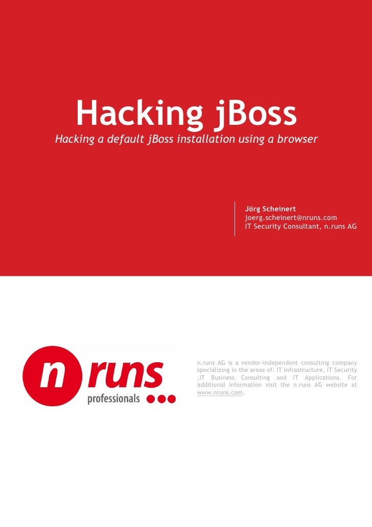 Jboss Exploit