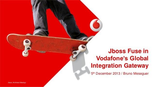 Jboss Fuse in Vodafone's Global Integration Gateway 5th December 2013 / Bruno Meseguer Jboss Architect Meetup