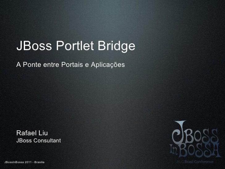 JBoss Portlet Bridge