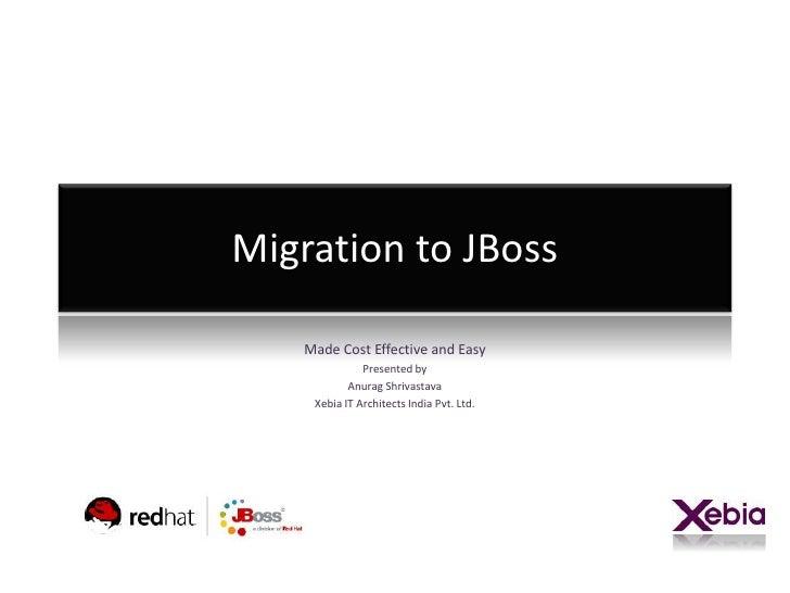 Seminar - JBoss Migration