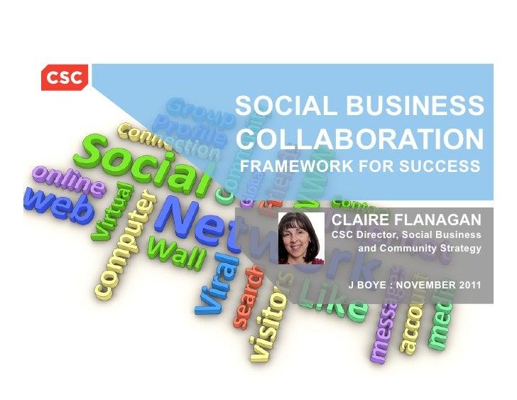Social Business Collaboration Framework For Success - Workshop