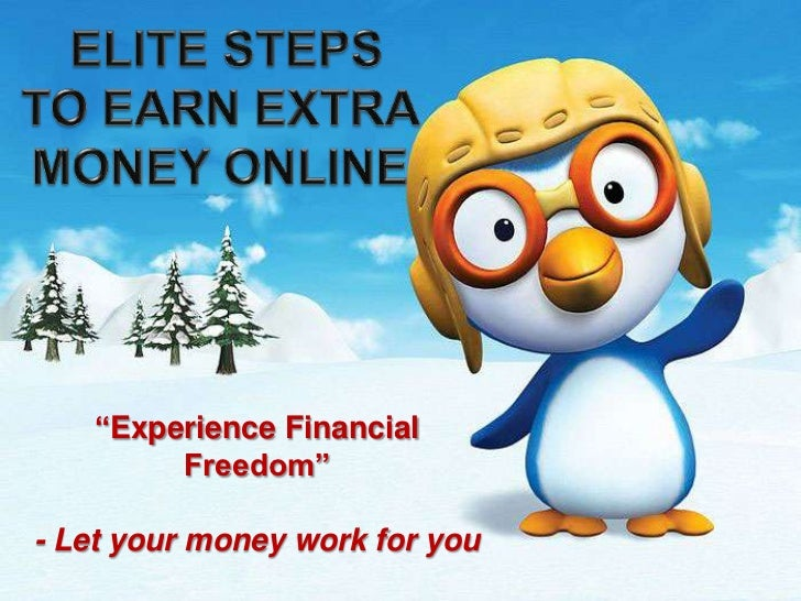 Elite Guide To Earn Extra Money Online