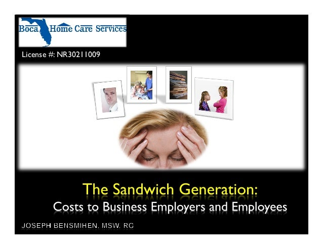 Concerns of The Sandwich Generation