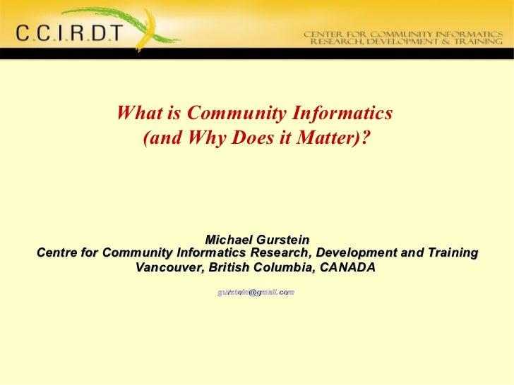 CCIRDT Presentation