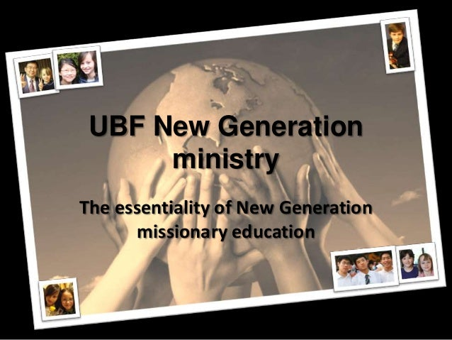 New Generation ministry