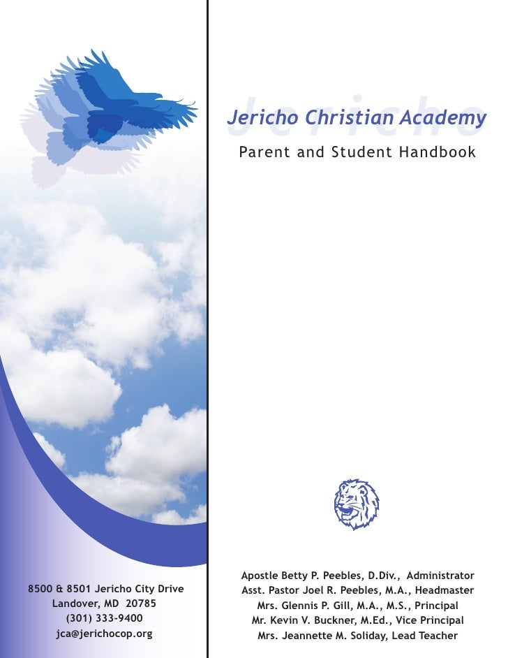 Jericho                                  Jericho Christian Academy                                   Parent and Student Ha...