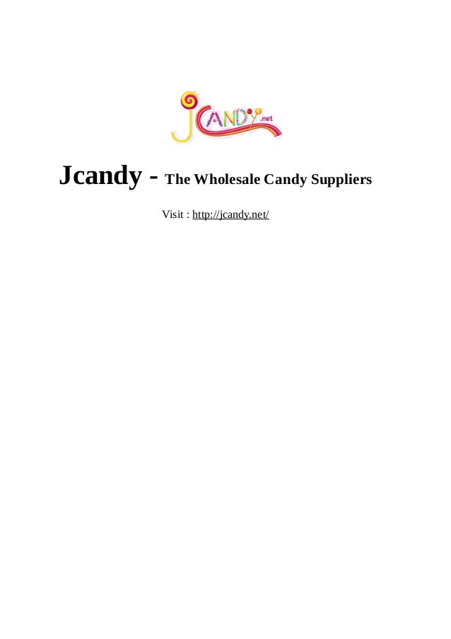 Jcandy - The Wholesale Candy Suppliers Visit : http://jcandy.net/