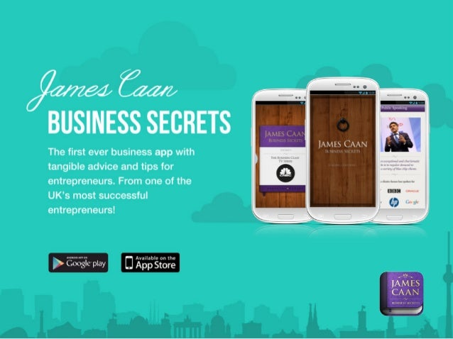 James Caan Business Secrets App