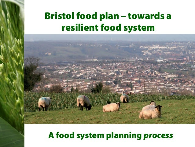 Bristol food plan – towards a    resilient food systemA food system planning process
