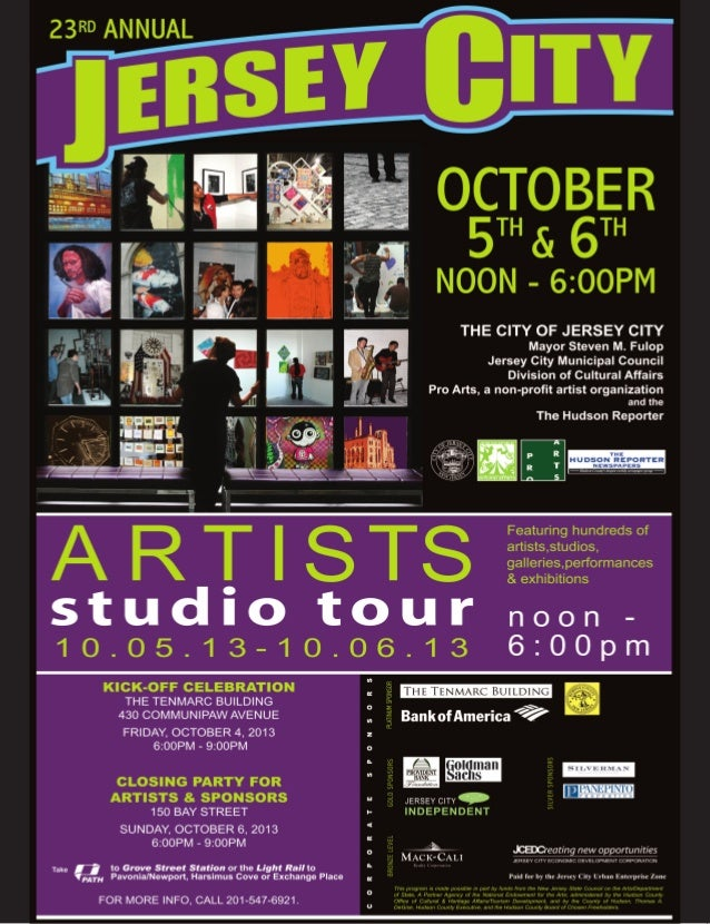 Jersey City Artists' Studio Tour 2013