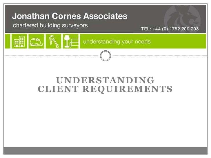 Jonathan Cornes Associates Presentation