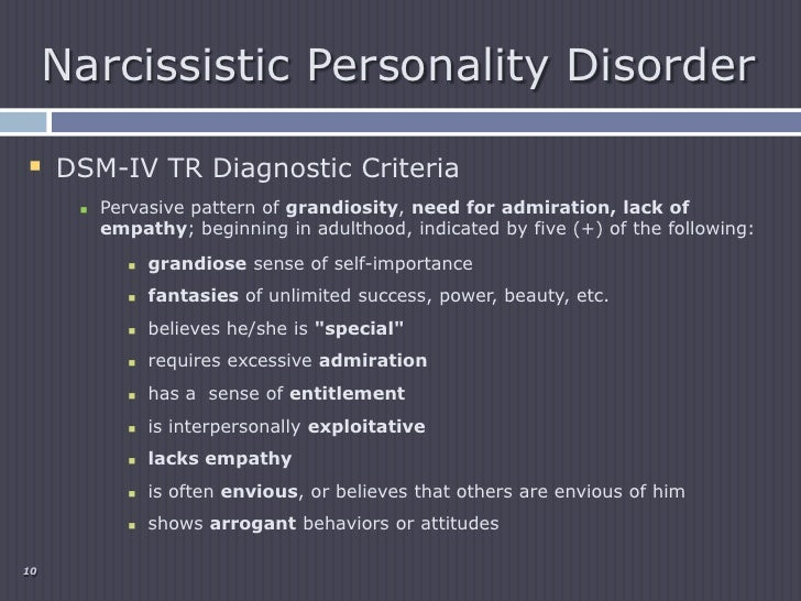 in depth study on narcissistic personality disorder Narcissistic smile of a villain  the narcissistic personality disorder is through your study of this  facet of the narcissistic personality in-depth, .