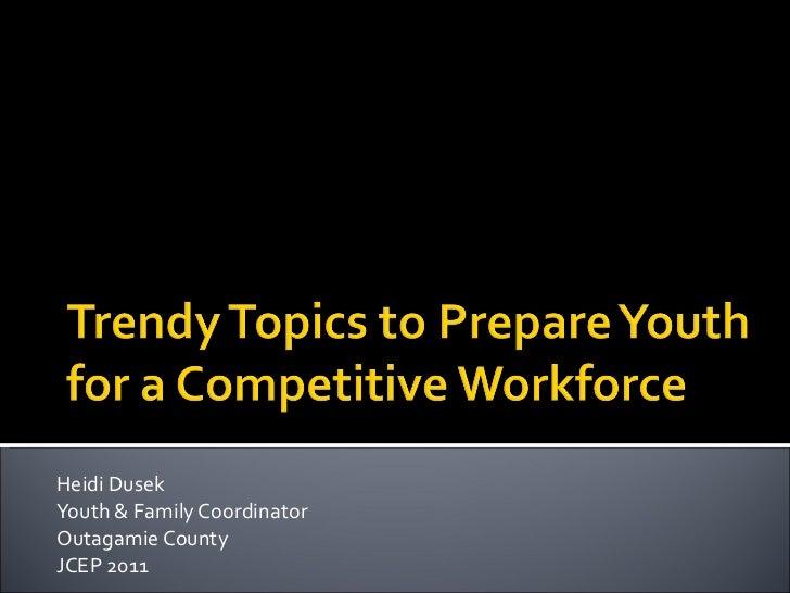 Jcep 2011 presentation