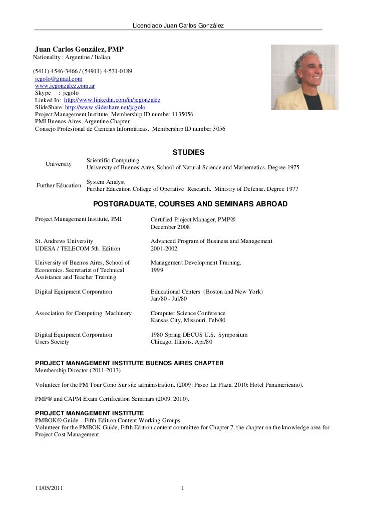 english resume - Template - Template