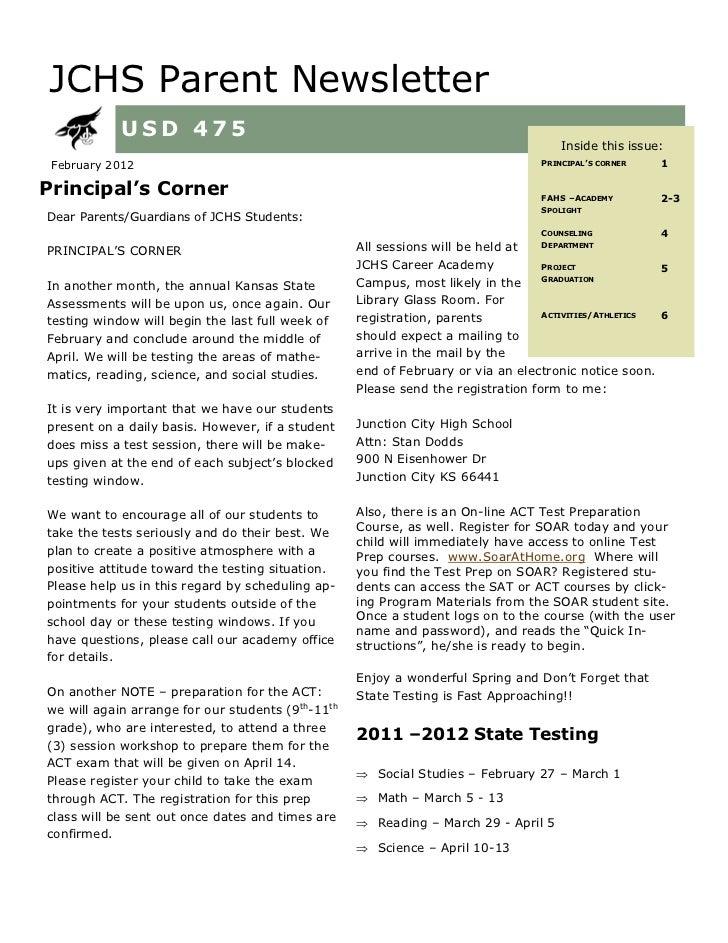 JCHS FEB 2012 Newsletter