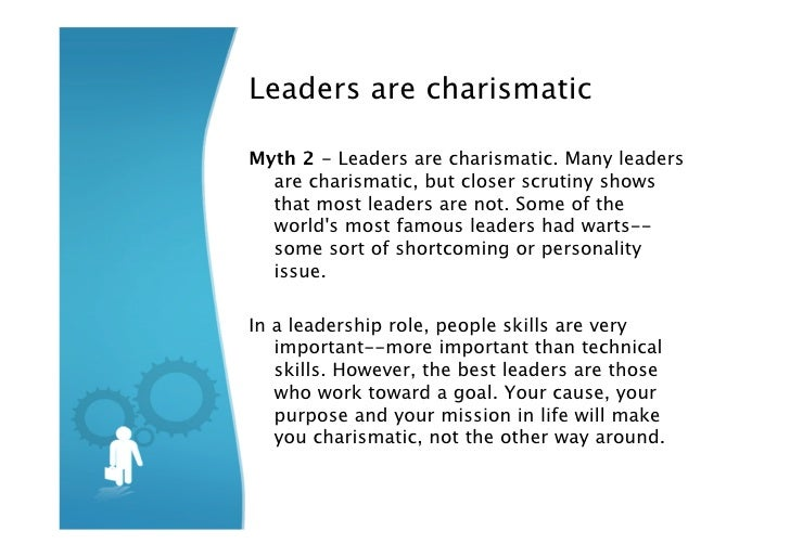 Charismatic leadership essay