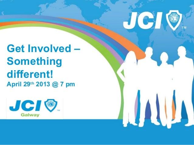 JCI Galway - Online Marketing in Galway Presentation (April 29 2013)