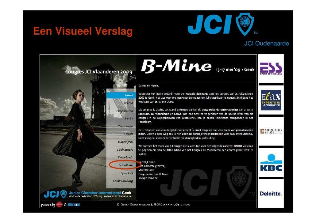 JCI Oudenaarde   Fotoverslag   VC2009 B Mine Genk