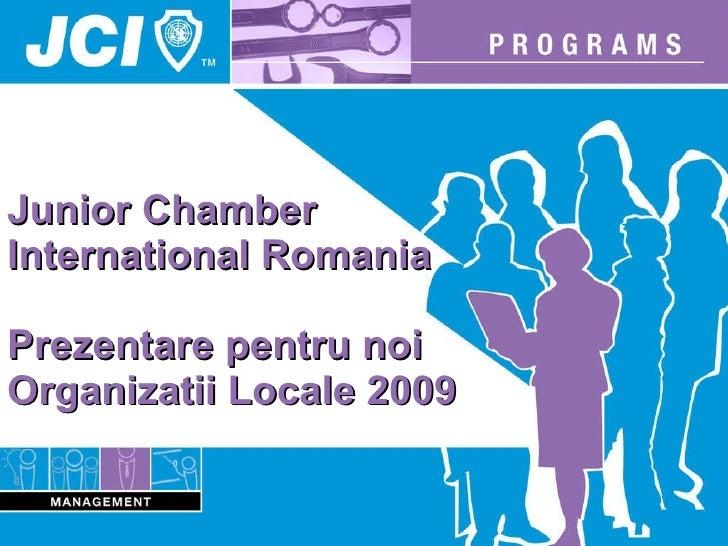 Jci Romania Presentation For New Lom S 2009