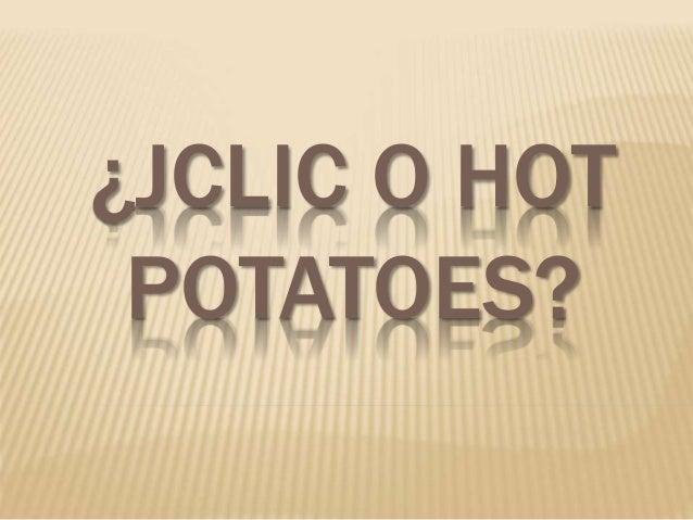 Jclic o hot potatoes