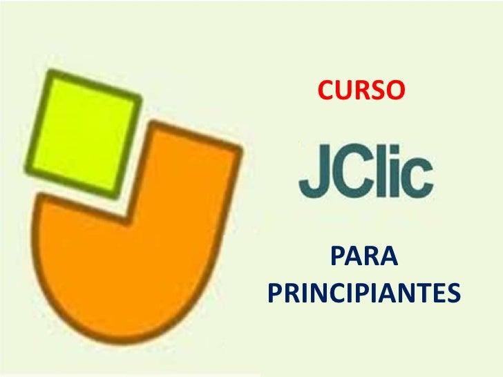 CURSO<br />PARA <br />PRINCIPIANTES<br />