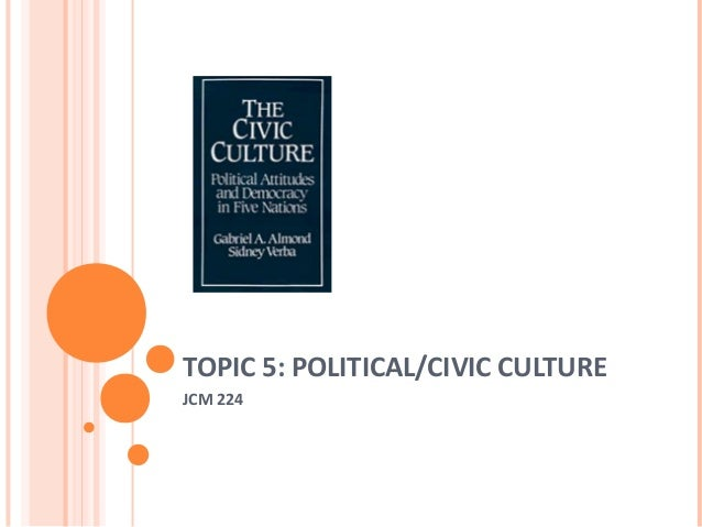 TOPIC 5: POLITICAL/CIVIC CULTURE JCM 224