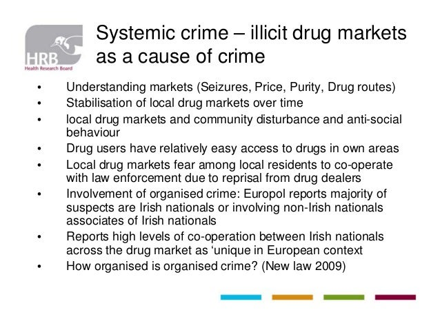 Anybody know the statistics of crime caused by drugs in ireland?
