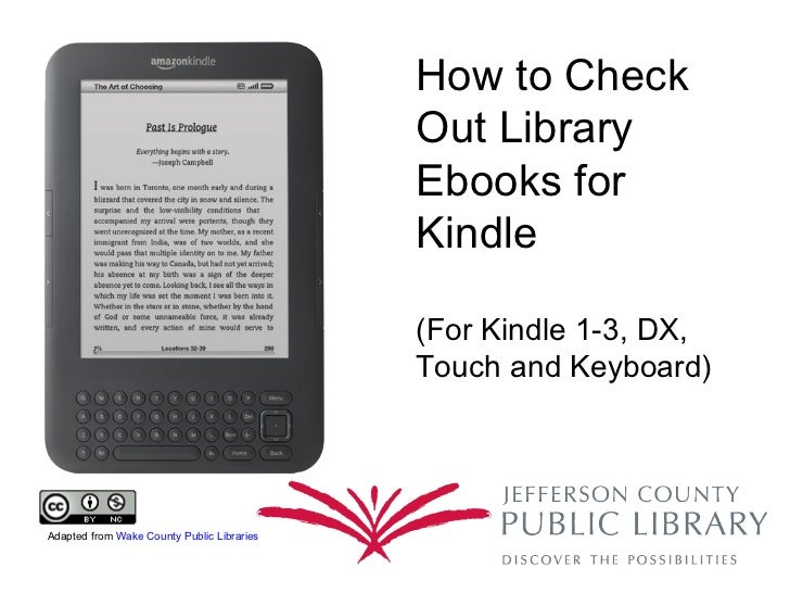 How to Get Library Books for Kindle