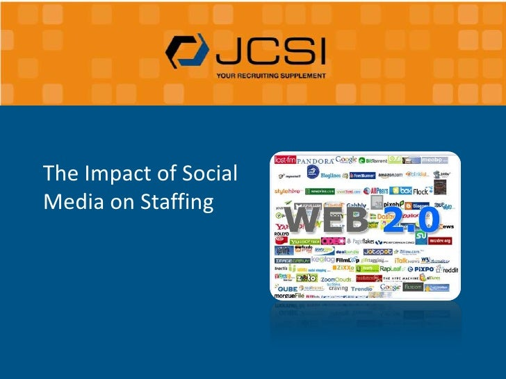 The Impact of Social Media on Staffing