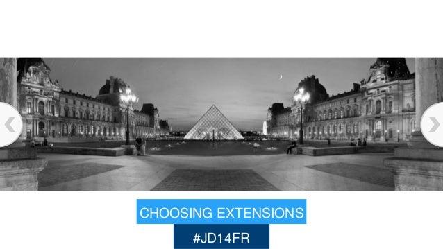 CHOOSING EXTENSIONS #JD14FR