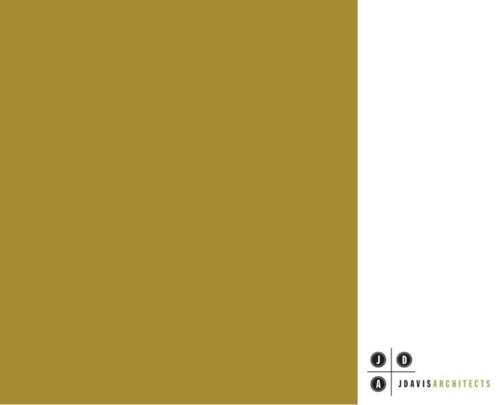 JDavis Architects Brochure