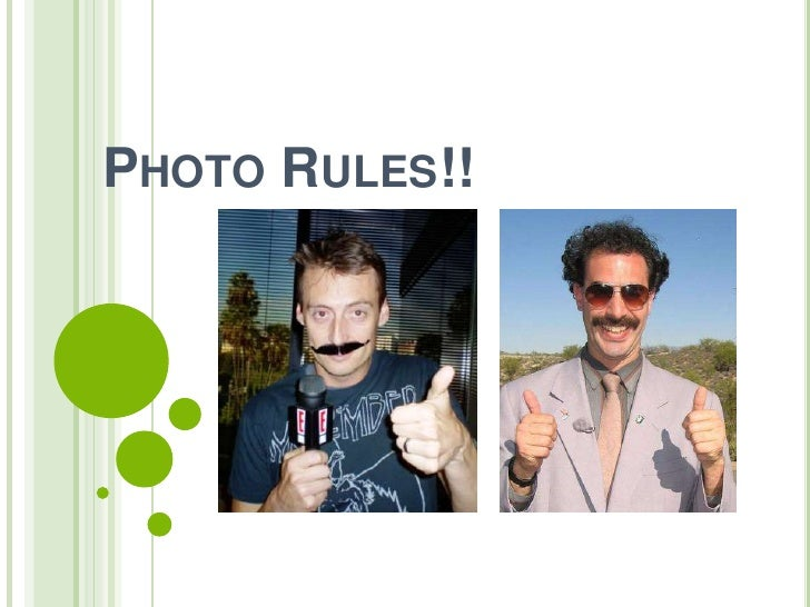 Photo Rules!!<br />
