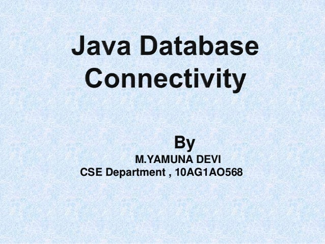 By M.YAMUNA DEVI CSE Department , 10AG1AO568