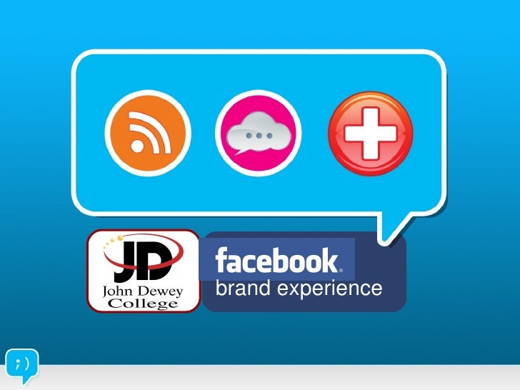 John Dewey College Facebook Application