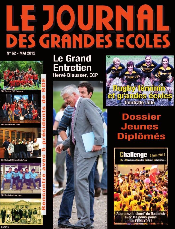 Journal des Grandes Ecoles - Numéro 62